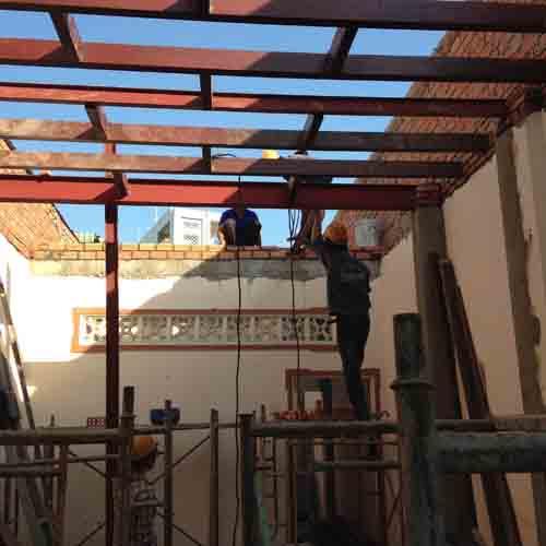 Chi phí sửa nhà cấp 4 thành nhà 2 tầng