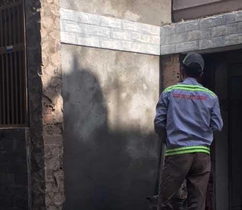 Sửa chữa nhà giá rẻ nhà anh Hoàng Tân Bình