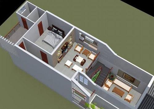 Chi phí sửa nhà cấp 4 có gác lửng diện tích 4m x 12m.