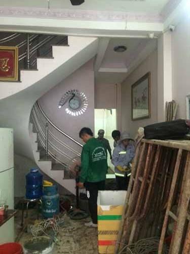 Sửa chữa nhà anh Hùng Quận Bình Thạnh