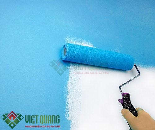 Quá trình thi công sơn nước