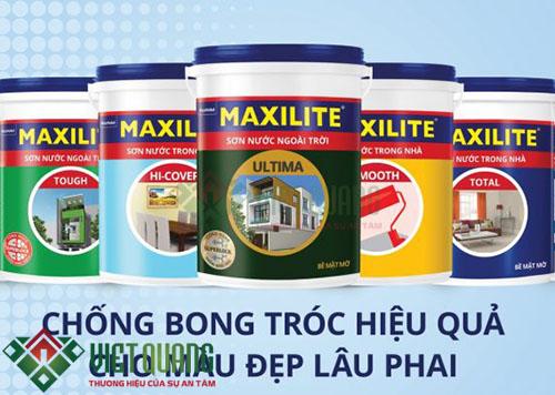 Sơn Maxilite sản phẩm kinh tế cho mọi nhà
