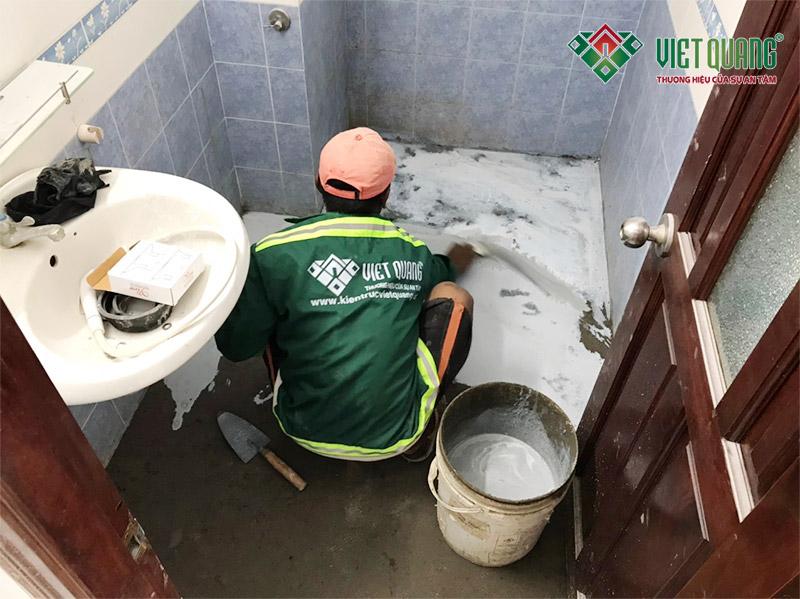 Các hư hỏng cơ bản thường gặp của mọi căn nhà - do thấm nhà vệ sinh