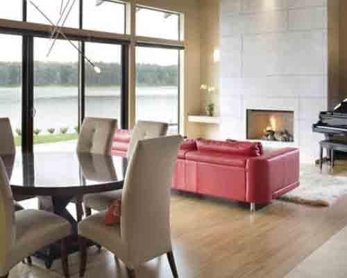 Cách trang trí nhà đẹp bằng trần gỗ.