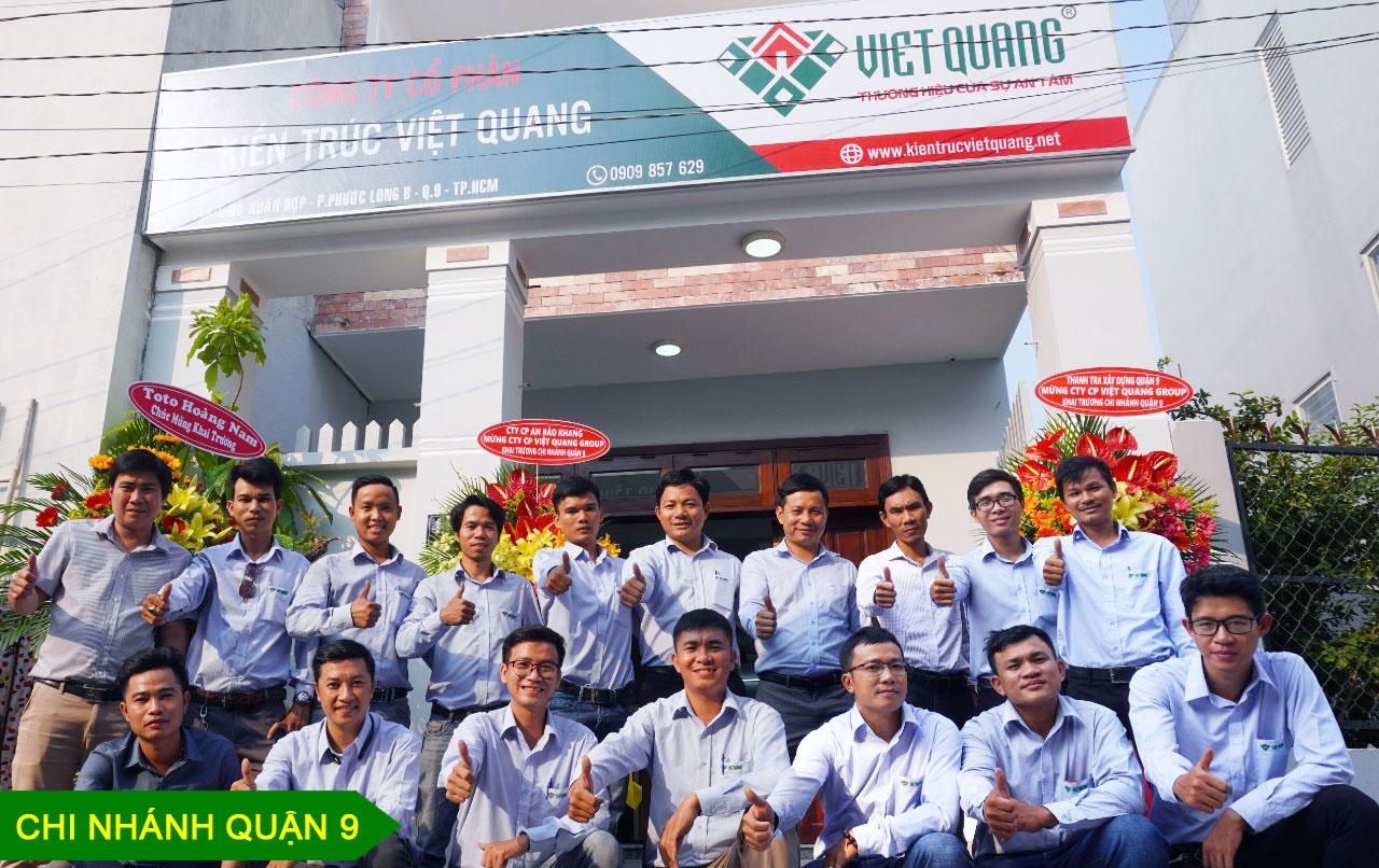 Chi nhánh tại quận 9 của Việt Quang Group