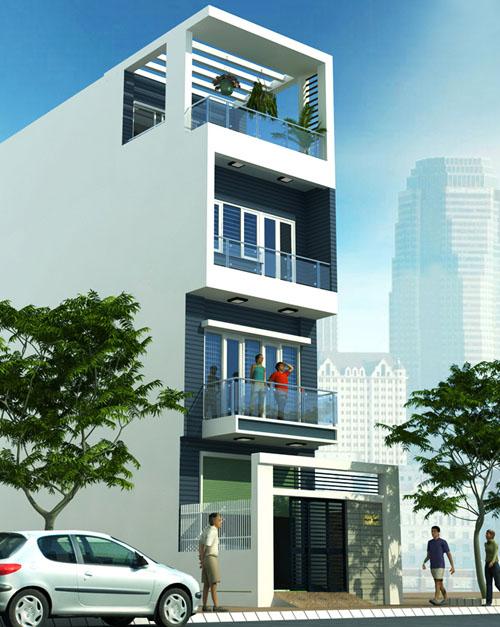 Chi phí xây nhà 4 tầng 70m2 – Việt Quang Group