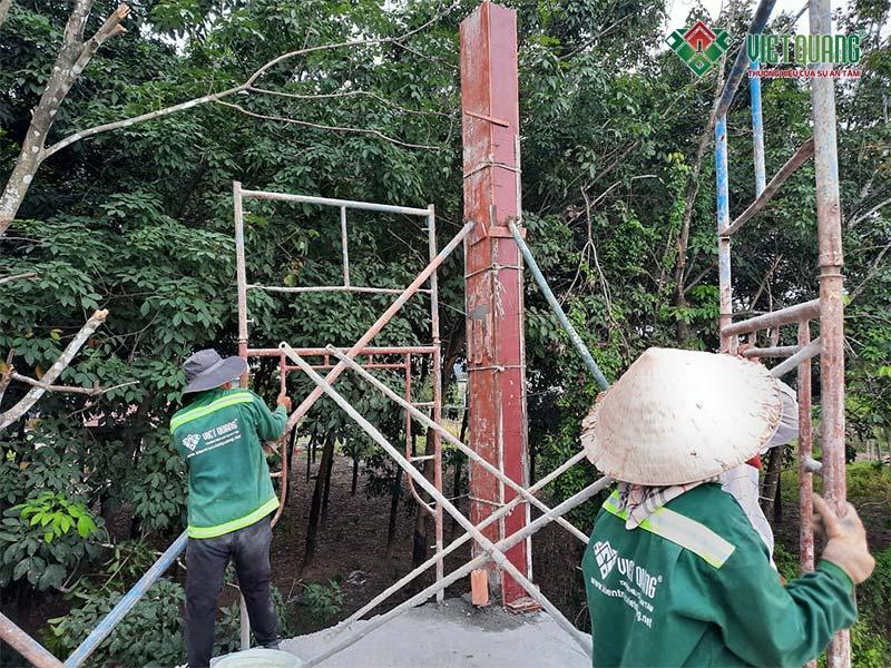 Bước IV: Thi công phần thô – Kiến Trúc Việt Quang