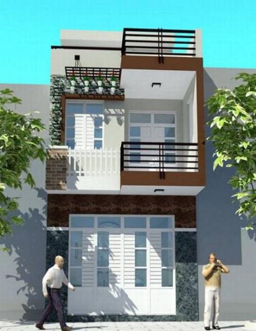 Đơn giá thiết kế xây dựng nhà phố 2 tầng