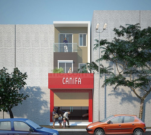Mẫu thiết kế nhà phố kết hợp kinh doanh