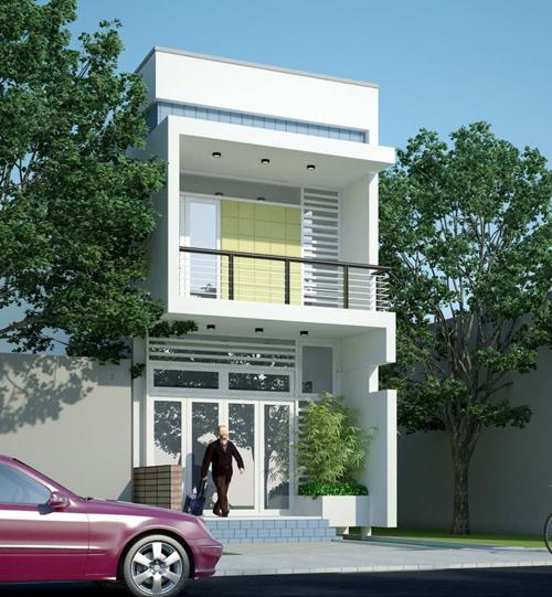 Chi phí xây nhà 2 tầng 50m2 tại TP HCM.