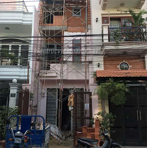 Sửa chữa nâng tầng nhà anh Dương Quan Nhân, phường Tân Thành, Quận Tân Phú