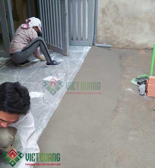 Sửa chữa nhà anh Quang quận 8 - Kiến Trúc Việt Quang