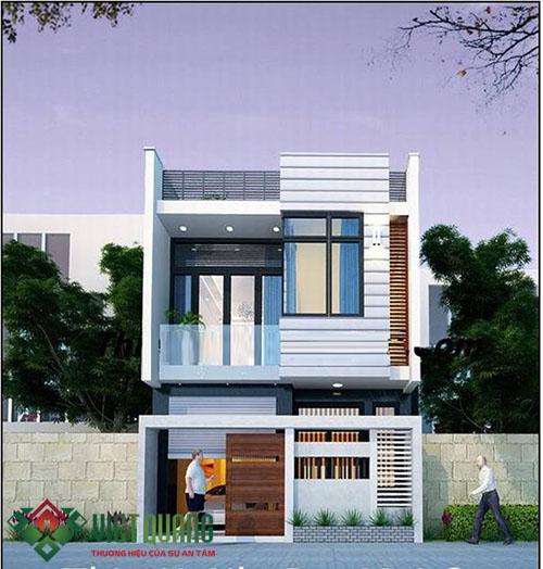 tư vấn thiết kế mẫu nhà phố 7x20m mạt tiền 7m đẹp hiện đại