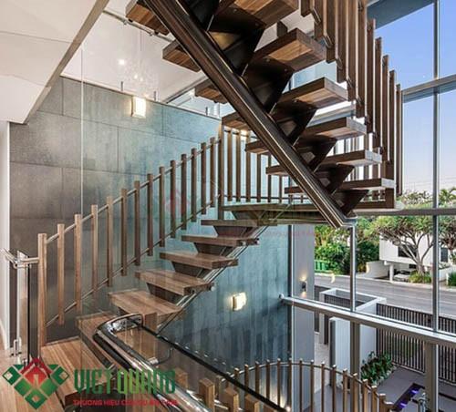 Một số mẫu cầu thang đẹp phù hợp nhất với nhà phố 1