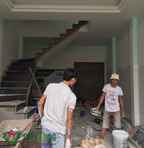 XAY NHA PHO 3 TANG NHA ANH HUNG Q9 SD