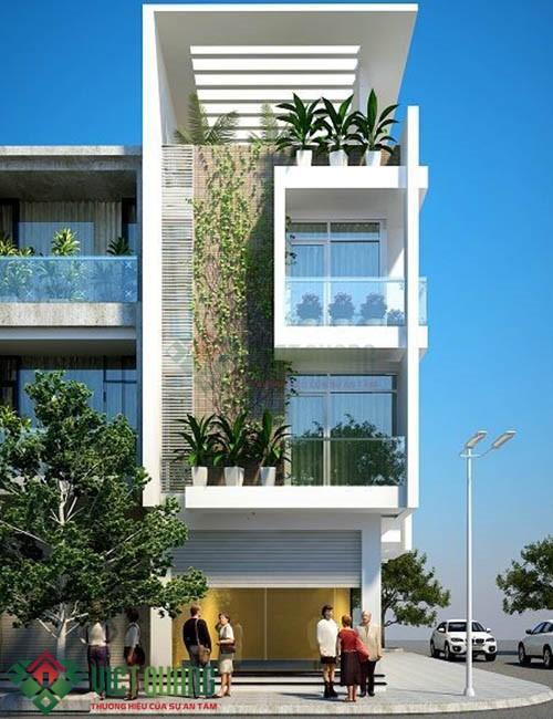Những ý tưởng thiết kế nhà Phố 4.5 15 3 tầng rưỡi 2