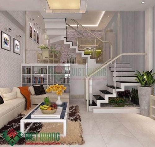 Những ý tưởng thiết kế nhà Phố 4.5 15 3 tầng rưỡi 8
