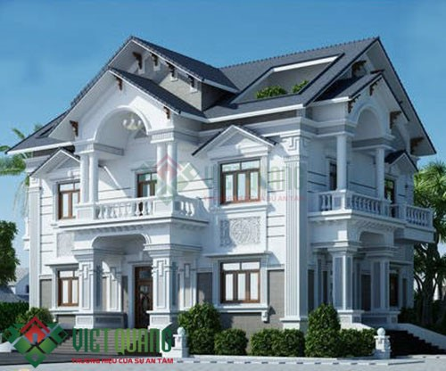 Những mẫu thiết kế biệt thự 2 tầng sang trọng đẹp nhất Sài Gòn 2
