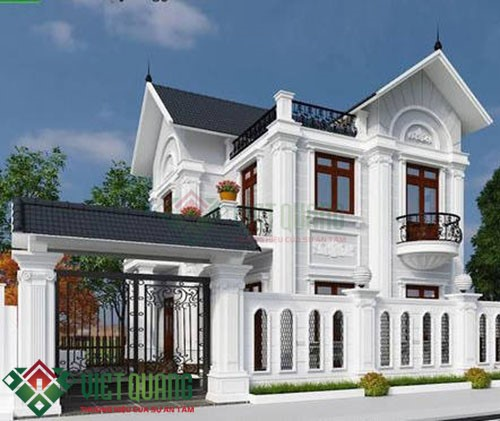 Những mẫu thiết kế biệt thự 2 tầng sang trọng đẹp nhất Sài Gòn 3