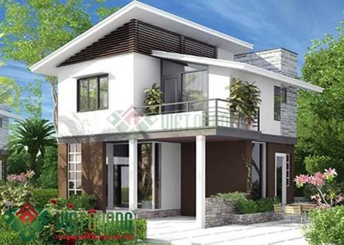 Những mẫu thiết kế biệt thự 2 tầng sang trọng đẹp nhất Sài Gòn 4