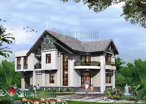 Những mẫu thiết kế biệt thự 2 tầng sang trọng đẹp nhất Sài Gòn 6