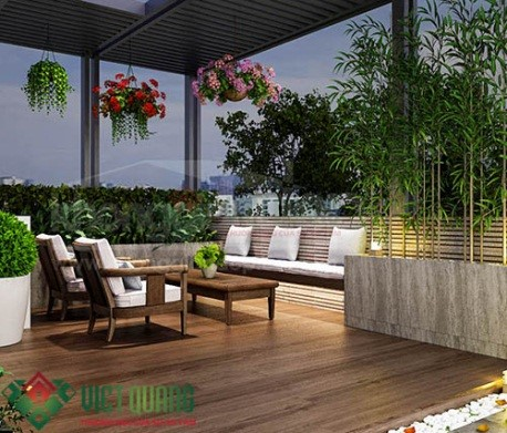 Chiêm ngưỡng những mẫu thiết kế sân vườn hòa mình với thiên nhiên