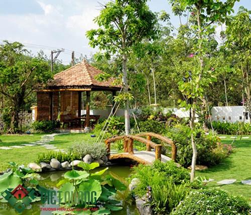 Chiêm ngưỡng những mẫu thiết kế sân vườn hòa mình với thiên nhiên 5