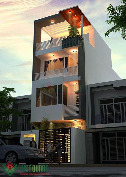 Nhà thầu thiết kế xây dựng nhà tại Quận Bình Thạnh 6