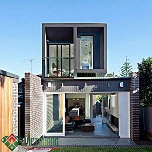 Những mẫu thiết kế nhà phố phong cách Châu Âu hiện đại 5