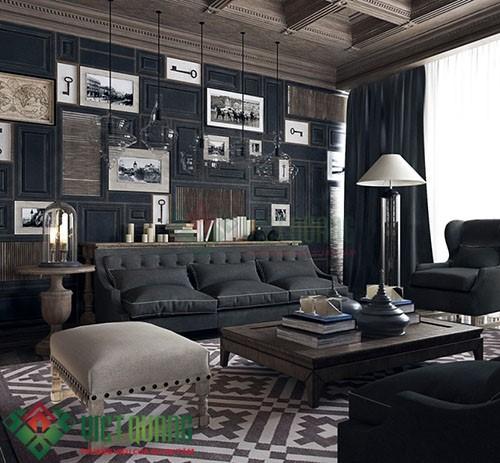 Xu thế trang trí nội thất phòng khách hiện đại sang trọng 2