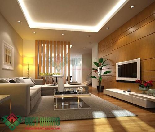 Xu thế trang trí nội thất phòng khách hiện đại sang trọng 3