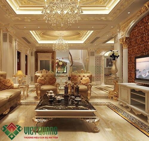 Xu thế trang trí nội thất phòng khách hiện đại sang trọng