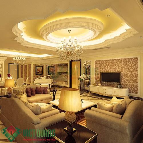 Xu thế trang trí nội thất phòng khách hiện đại sang trọng 5
