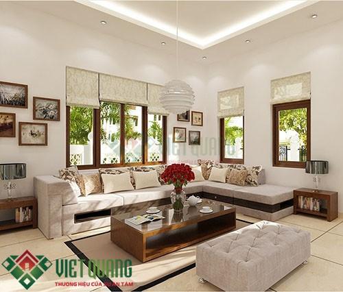 Xu thế trang trí nội thất phòng khách hiện đại sang trọng 6