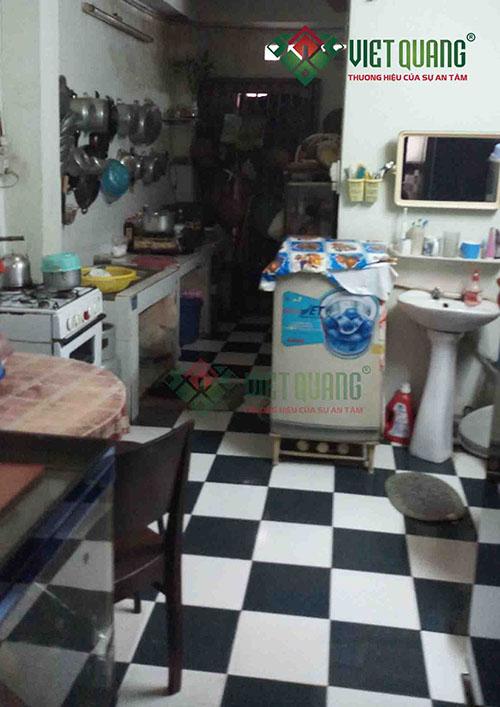 Hiện trạng nhà trước khi sửa chữa cải tạo