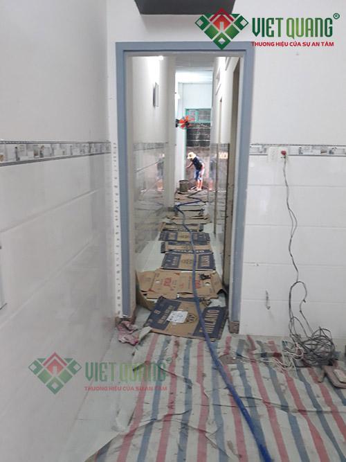 Sửa chữa nhà Chị Lan ở Huyện Hóc Môn