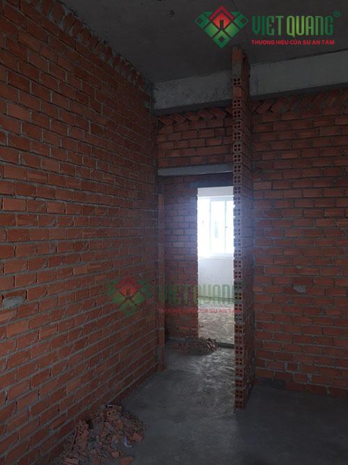 Sửa chữa nâng tầng nhà anh Huấn Quận 6