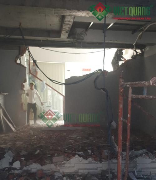 Hiện trạng trước khi sửa chữa cải tạo nhà
