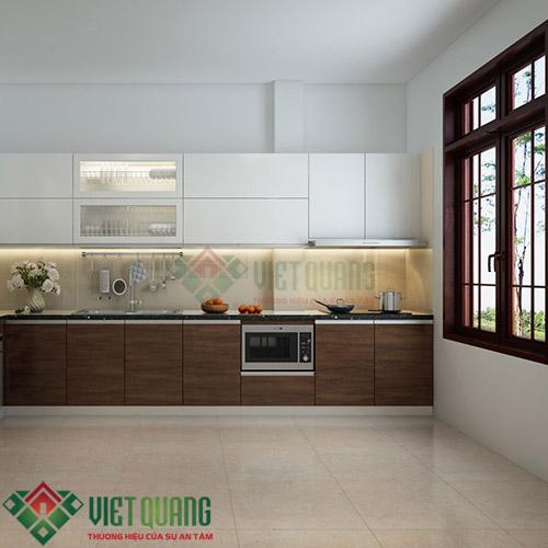 Lắp đặt tủ bếp nhà Chú Phát