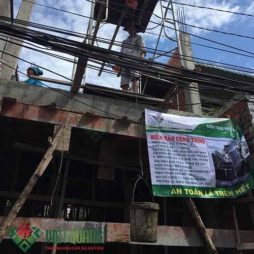 xây nhà trọn gói 3 tầng đẹp ở Quận Bình Tân
