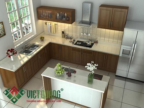 Thiết kế ánh sáng phòng bếp