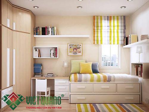 Cách trang trí phòng ngủ nhỏ gọn và đẹp