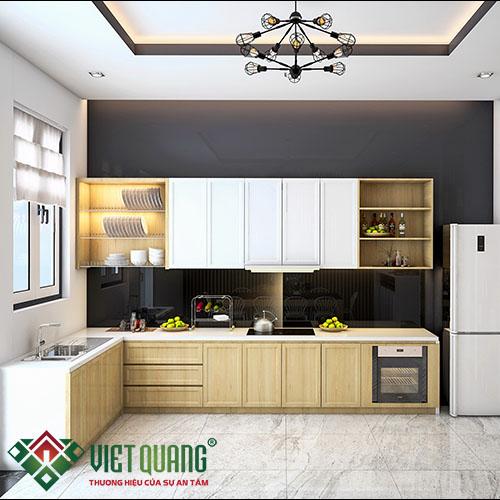 Cách trang trí phòng bếp gọn đẹp hợp phong thủy
