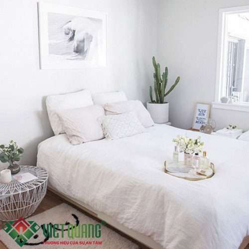 Không gian phòng ngủ ngôi nhà