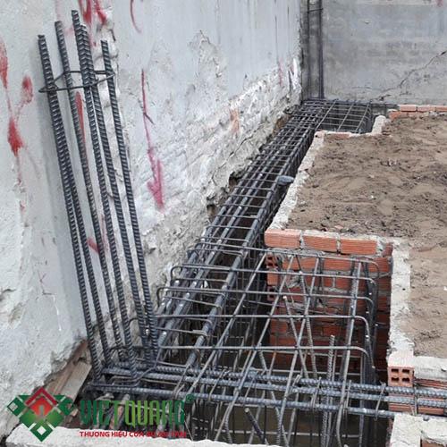 Thi công xây nhà anh Vũ Quận 7