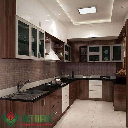 Không gian nội thất Bếp sau khi hoàn thành cải tạo sửa chữa