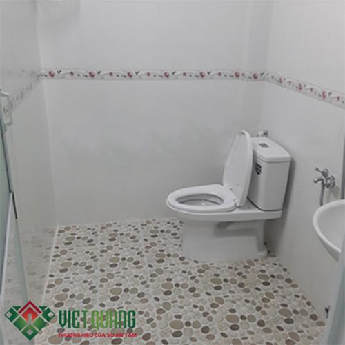 Nhà vệ sinh sau khi cải tạo sửa chữa
