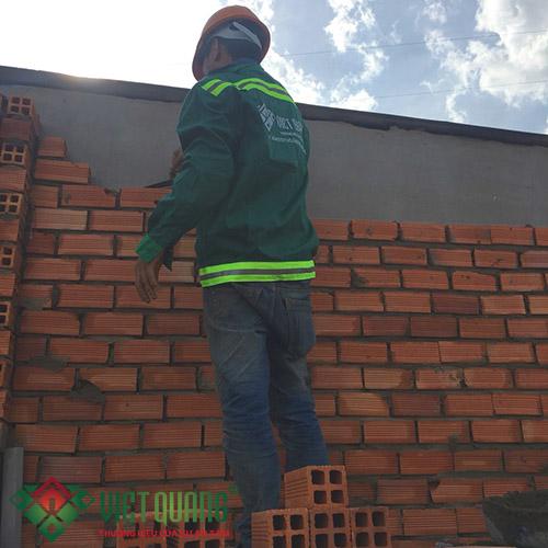 Thi công xây tường, vách ngăn phân chia các phòng