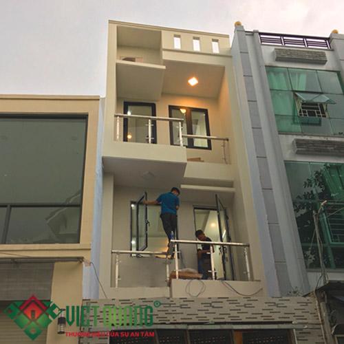 Xây dựng nhà phố 3 tầng chị Vân Quận Tân Bình Tp HCM