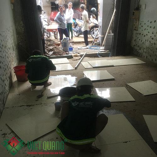 Công trình sửa chữa nhà Chị mẫn Quận Bình Tân